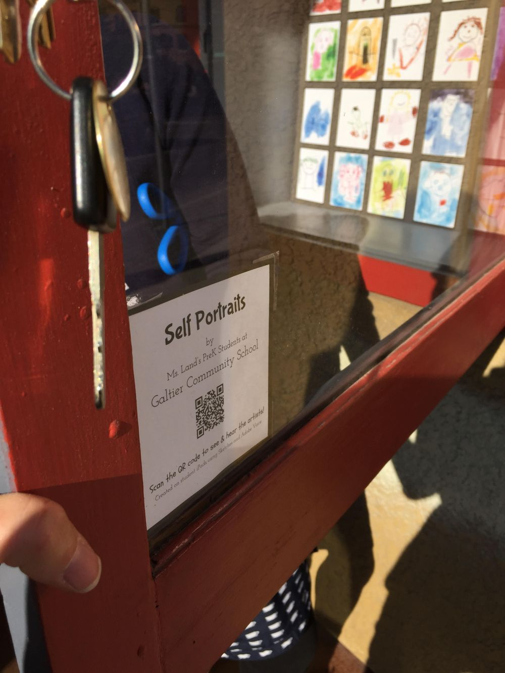 Smallest Museum Self-portrait Exhibit