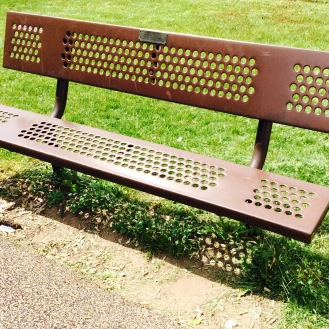 This is the bench.